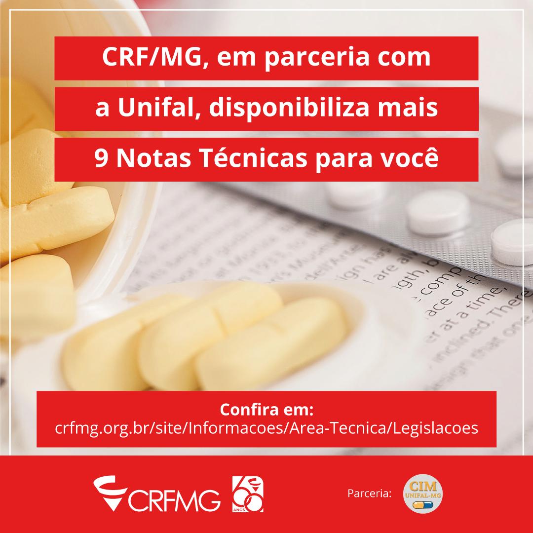 CRF/MG e CIM disponibilizam mais 9 Notas Técnicas para você